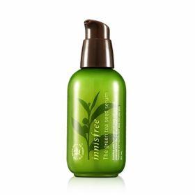 Innisfree Green tea seed serum 80ml - Увлажняющая питательная сыворотка