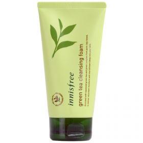 Innisfree Green tea foam cleanser 150ml - Увлажняющая пенка для очищения лица