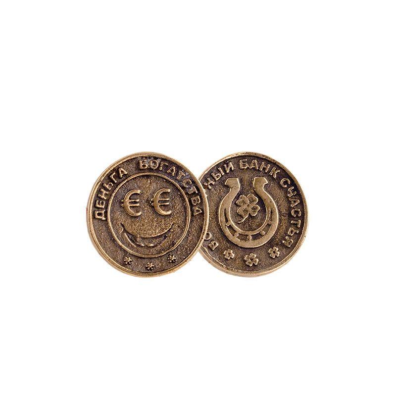 """Монета """"Деньга богатства. Евро"""""""