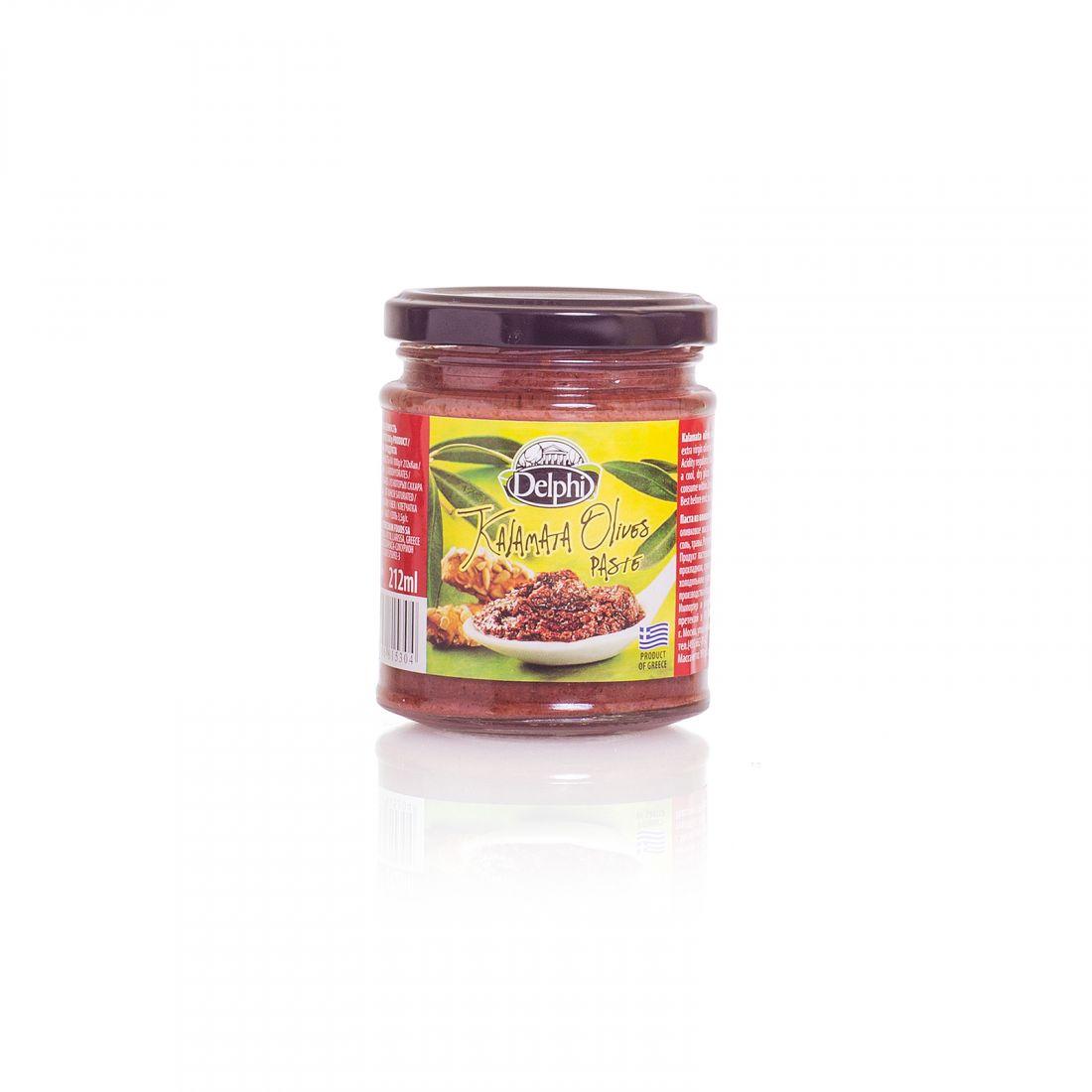 Оливковая паста из маслин Delphi - 190 гр