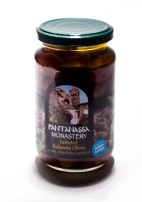 Оливки Каламата монастырские Pantanassa - 370 гр
