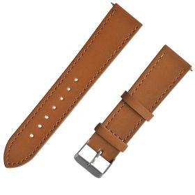 Сменный кожаный ремешок для Amazfit Bip (коричневый)