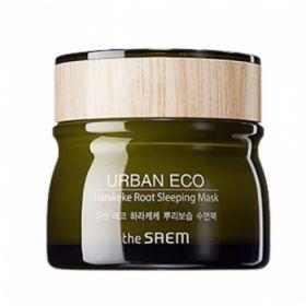 The Saem Urban Eco Harakeke Root Sleeping Mask 80ml - Ночная маска для лица с экстрактом корня новозеландского льна