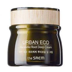 The Saem Urban Eco Harakeke Root Deep Cream 60ml - глубоко увлажняющий крем с экстрактом корня новозеландского льна