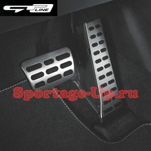 Спортивные педали Sportage4 QL версии GT-Line, MOBIS