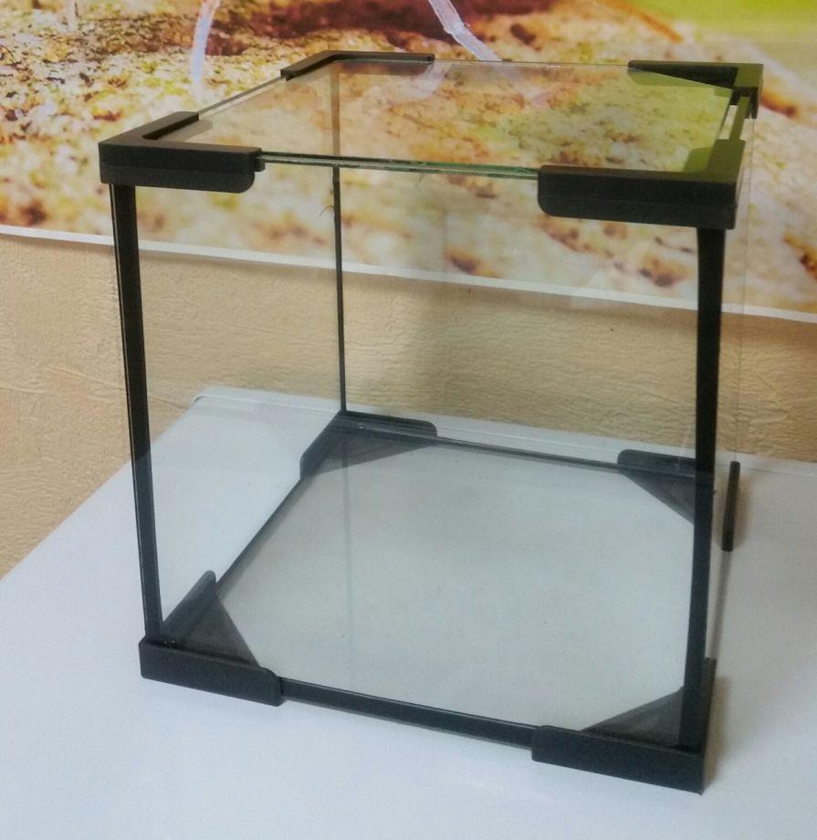 Аквариум куб с покровным стеклом