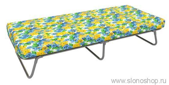 Раскладушка Николь (раскладная кровать сетка с матрасом) 1900х800х425  150кг