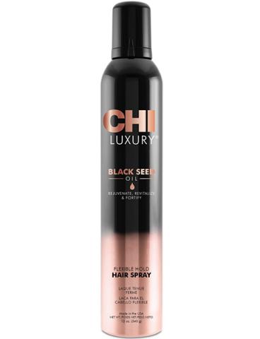 Лак для волос CHI Luxury с маслом семян черного тмина подвижной фиксации 340