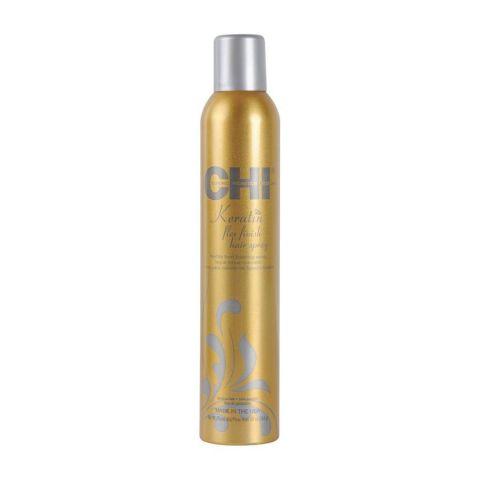 Лак для волос сильной фиксации с кератином / CHI Keratin Flexible Hold Hairspray , 284г