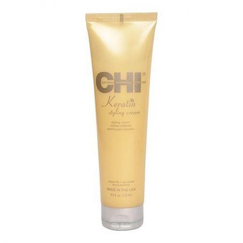 Моделирующий крем с кератином / CHI Keratin Styling Cream, 4,5oz/133мл туба