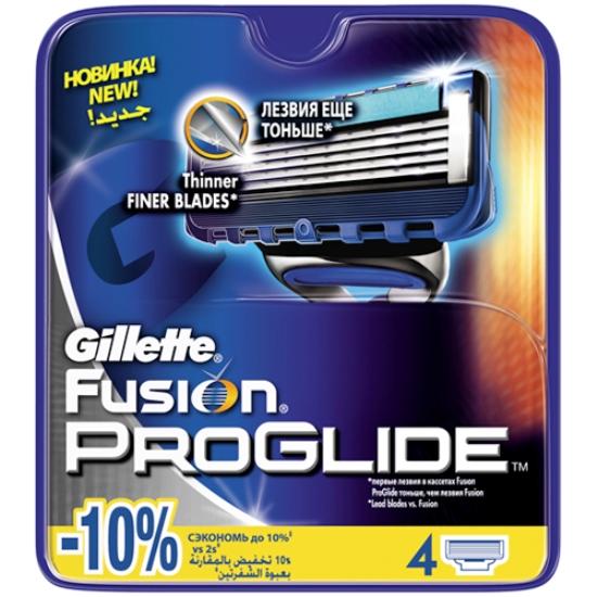 121* 4шт. Gillette Fusion ProGlide сменные кассеты (4 шт)