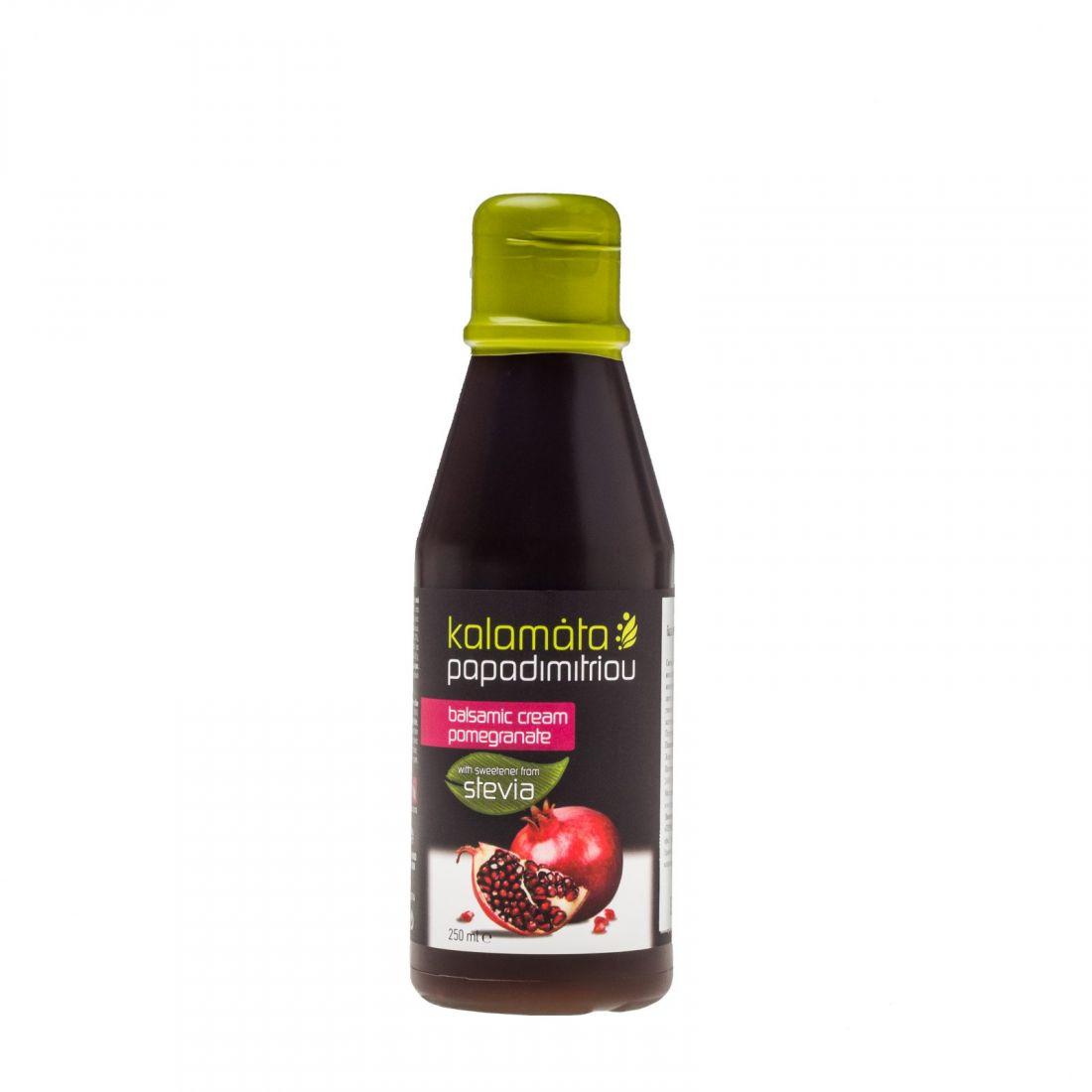 Бальзамический соус с гранатом без сахара Kalamata Papadimitriou - 250 мл - в пластике