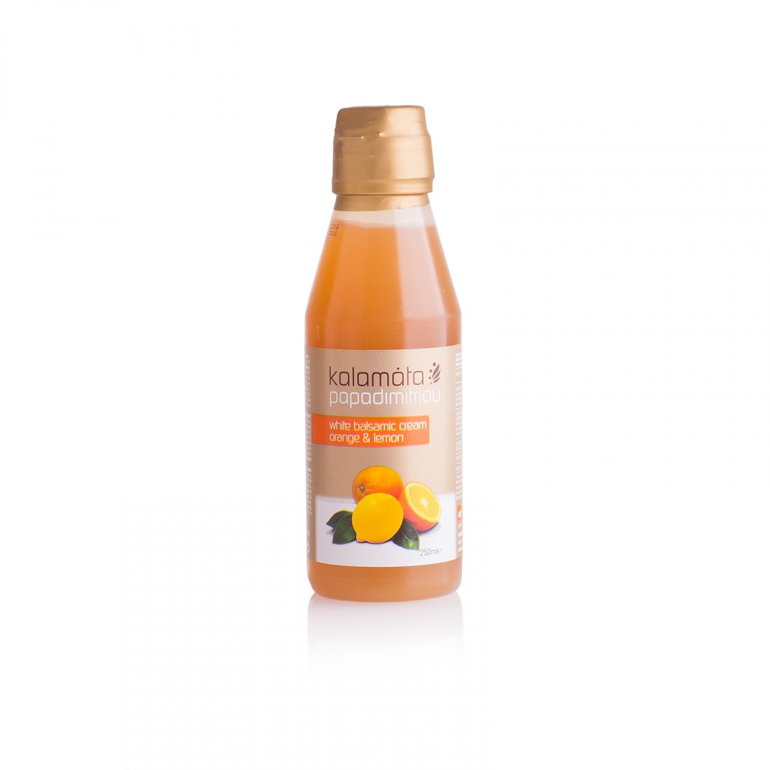 Бальзамический соус с апельсином и лимоном Kalamata Papadimitriou - 250 мл - в пластике