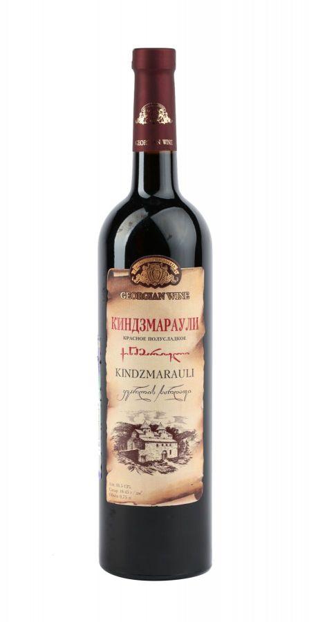Вино Киндзмараули, Кварельский Погреб, красное, полусладкое, 0,75