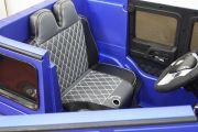 сидения Детского электромобиля Мерседес синий :: детский интернет магазин