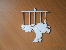 чипборд МОБИЛЬ размеры 70*76 мм белый картон 1,2 мм