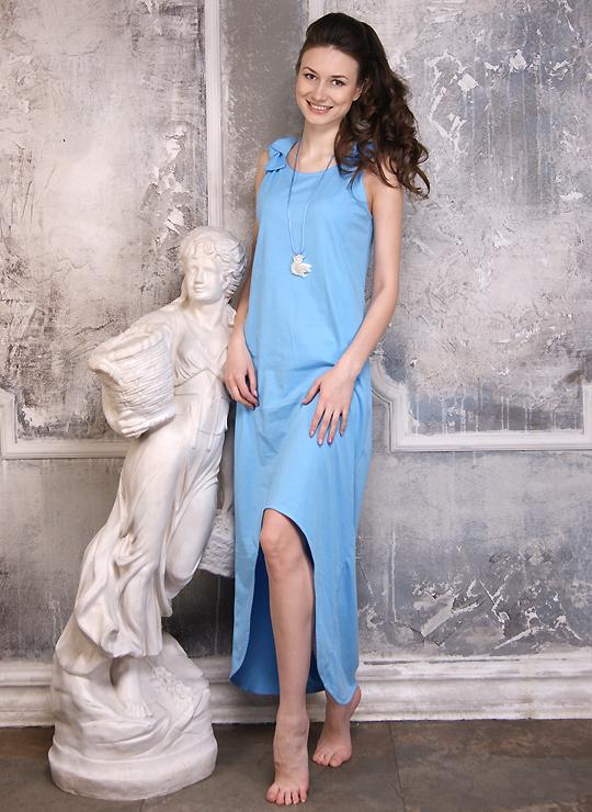 Модный сарафан Голубка