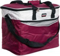 Изотермическая термосумка Sanne Bag 34 литра бордовая
