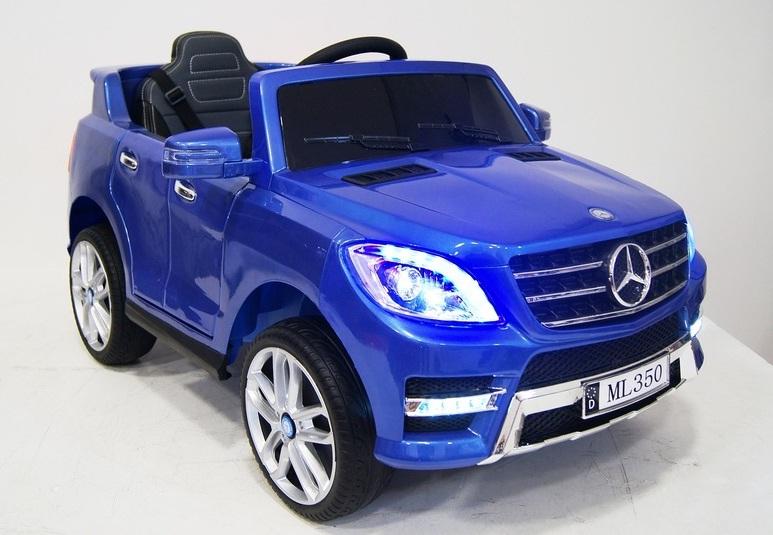111. Детский электромобиль Mercedes-Benz ML 350 blue