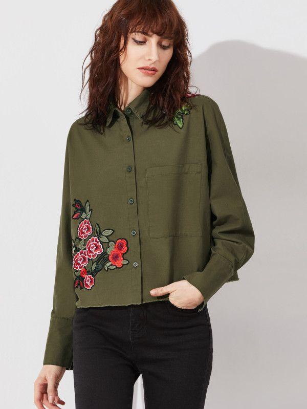 Летняя куртка с вышивкой