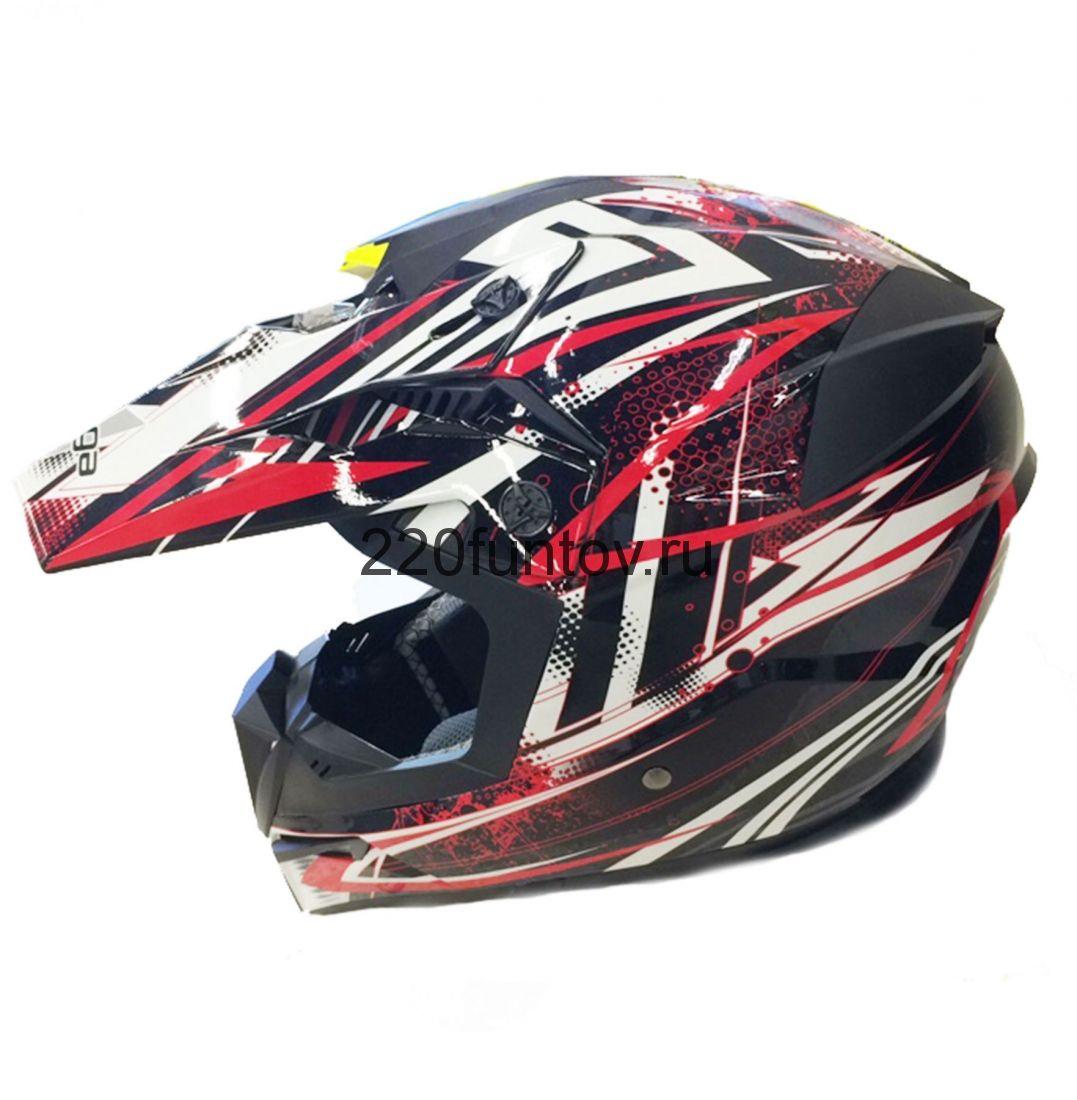 Шлем кроссовый Michiru Energy Red