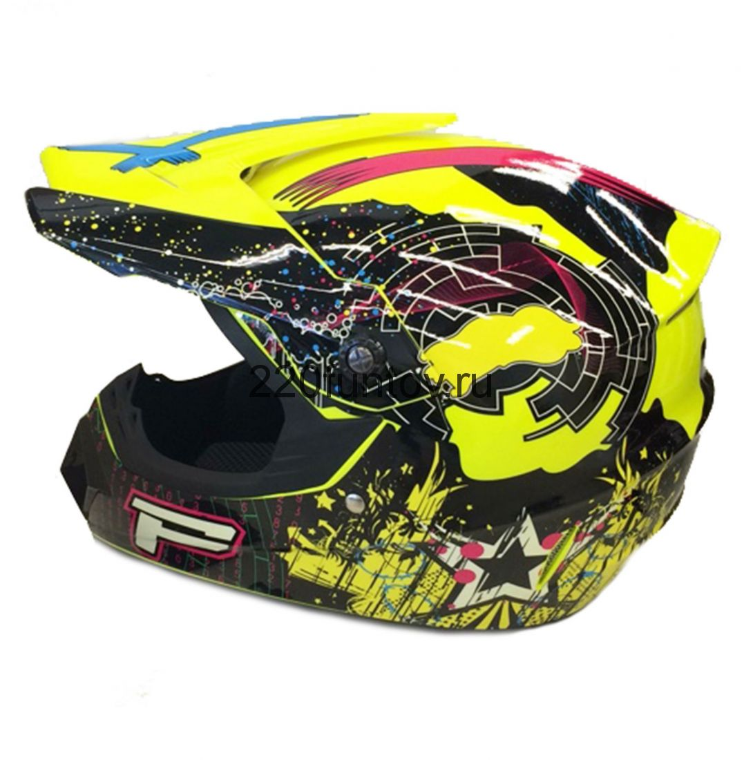 Шлем кроссовый Michiru Energy Yellow