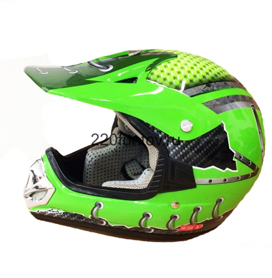 Шлем кроссовый Michiru Energy Green