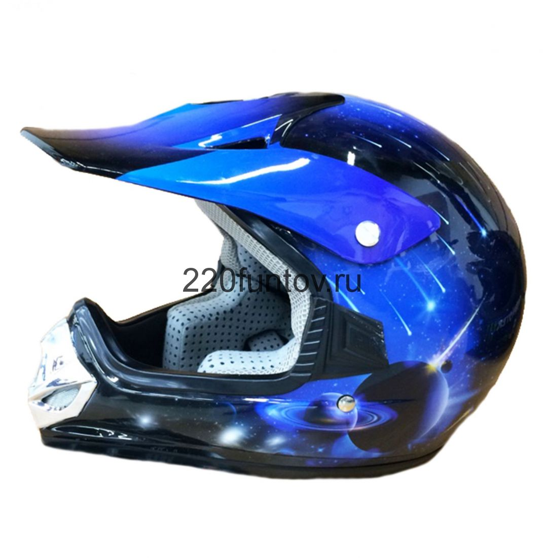 Шлем кроссовый Michiru Energy Blue