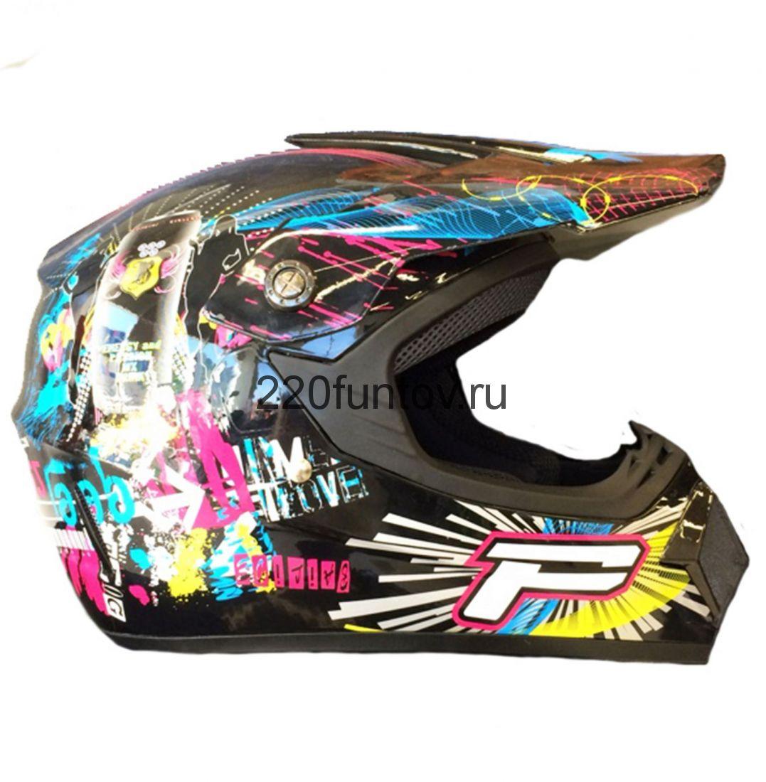 Шлем кроссовый Michiru Energy Crazy
