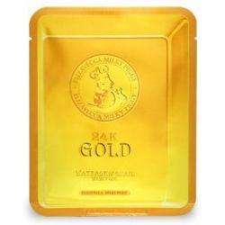 Elizavecca 24k Gold Water Dew Snail 25г - антивозрастная маска с 24k золотом и улиточным фильтратом