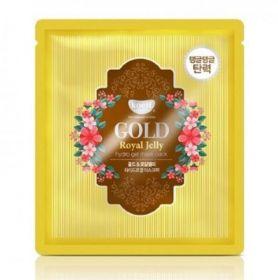 KOELF Gold & Royal Jelly Hydro Gel Mask Pack 30g - Гидрогелевая маска с золотом и маточным молочком