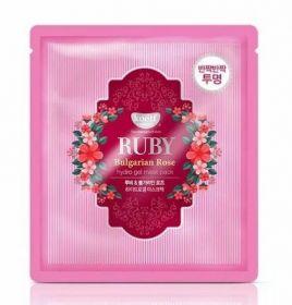 KOELF Ruby & Bulgarian Rose Hydro Gel Mask Pack 30g - Гидрогелевая маска с рубиновой пудрой и розовым маслом