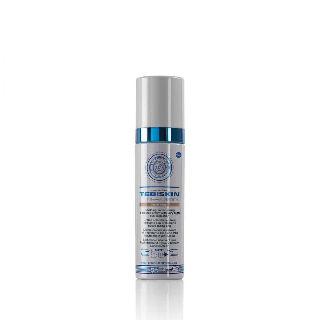 TEBISKIN UV-Sooth Teintee SPF 50 Тонирующий успокаивающий крем с SPF 50+