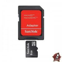 Карта памяти-флэшка SanDisk 8GB Class 4