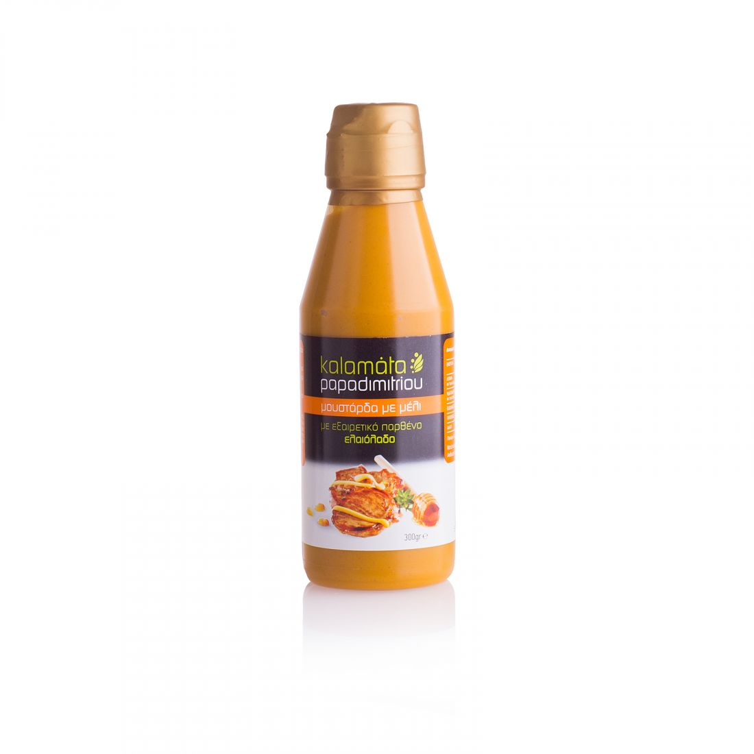 Горчица  с медом Kalamata Papadimitriou - 300 гр - в пластике