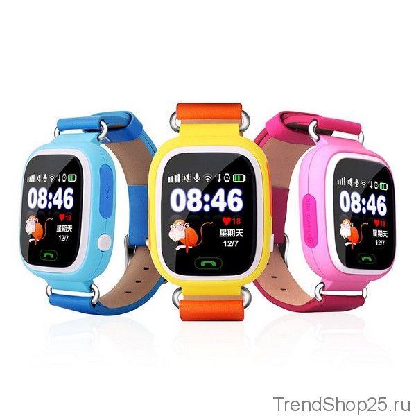 Умные детские часы с GPS Smart Baby Watch Q80 c Wi-Fi