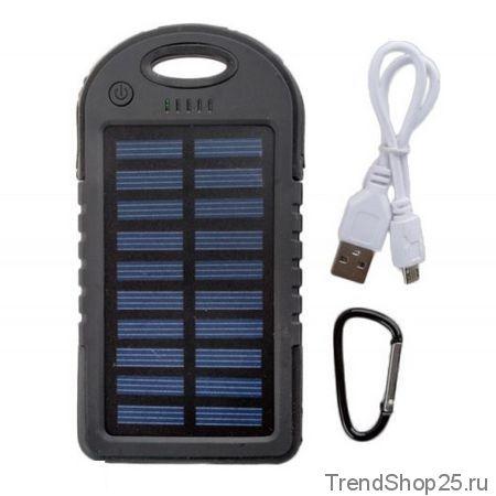 Внешний аккумулятор Solar Сharger 5000mAh