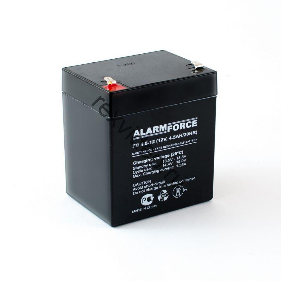 Аккумуляторная Батарея 12В, 4,5 А*Ч