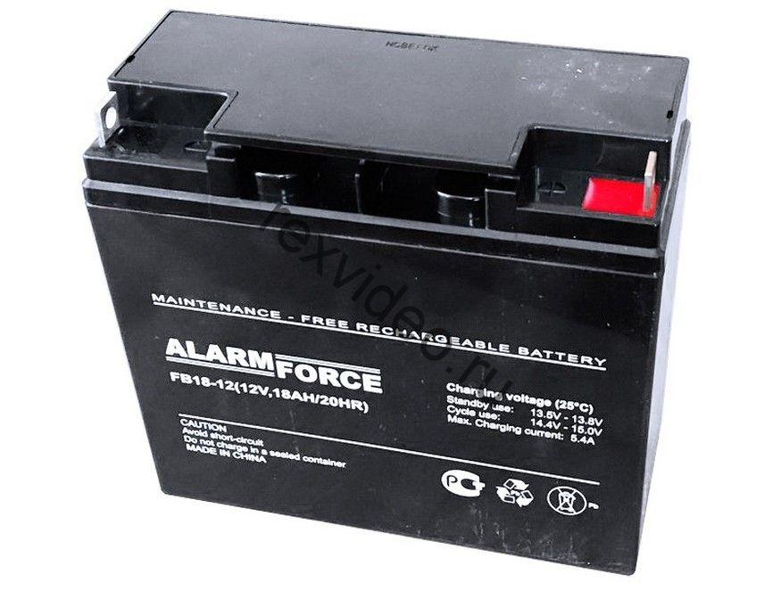 Аккумуляторная батарея 12В, 18 А*ч
