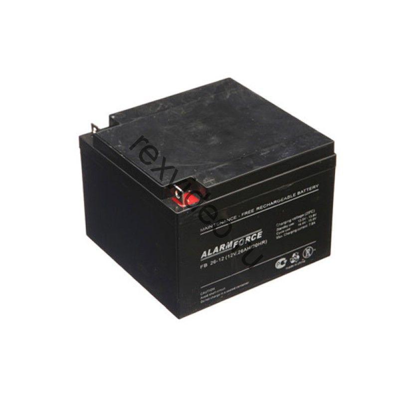 Аккумуляторная батарея 12В, 26 А*ч