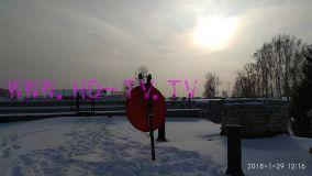 Заказ на установку спутникового ТВ от МТС