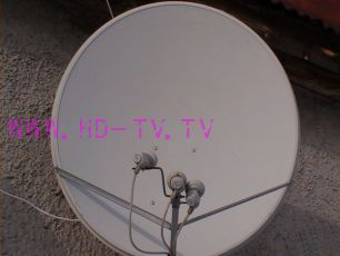 Настройка спутниковой антенны диаметром 1 м. - 1,2 м.