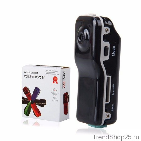 Мини-видеокамера/диктофон MINI DV