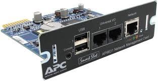 Карта управления APC UPS Network Management AP9631