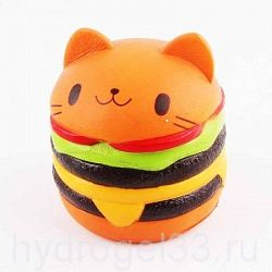Сквиши гамбургер киска