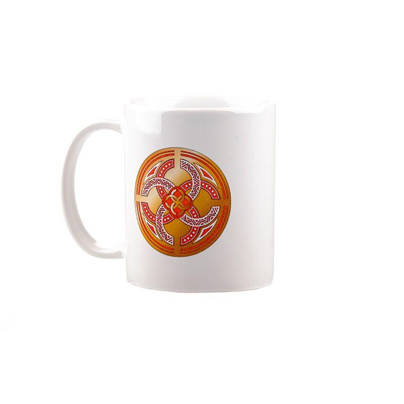 """Коллекционная сувенирная кружка с обережным символом """"Свадебник"""""""