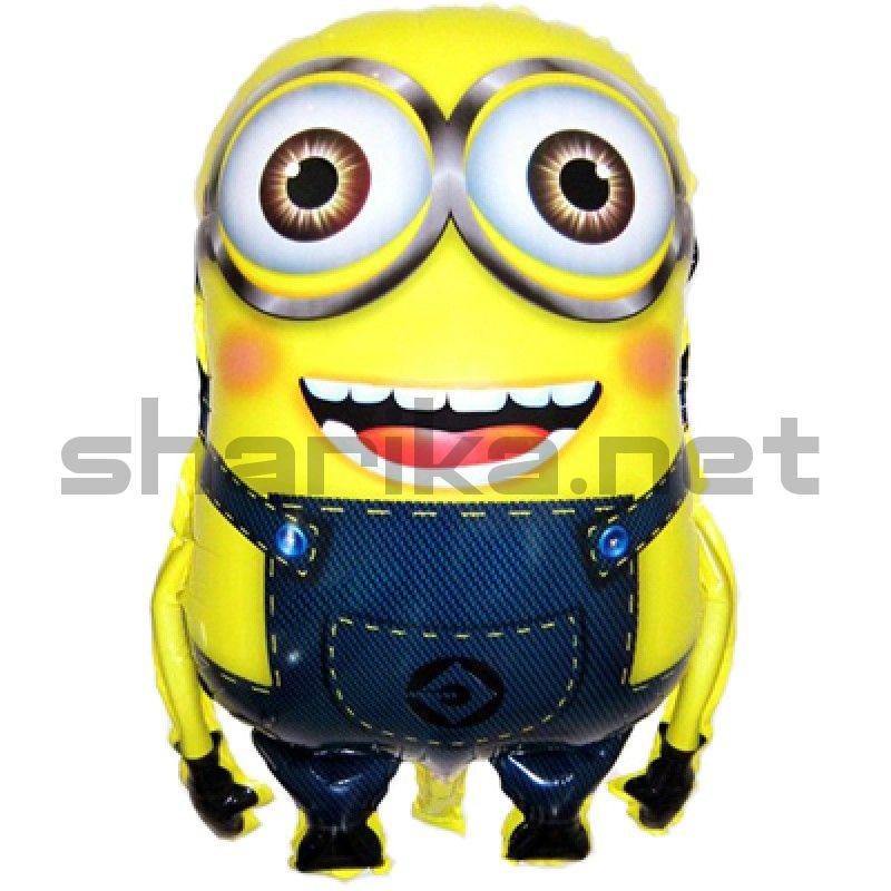 Фигура Миньон Двухглазый желтый 61 sm