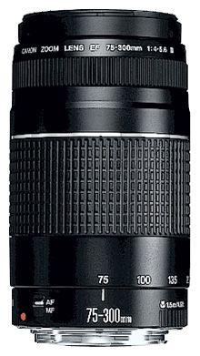 Canon EF 75-300mm f/4-5.6 II
