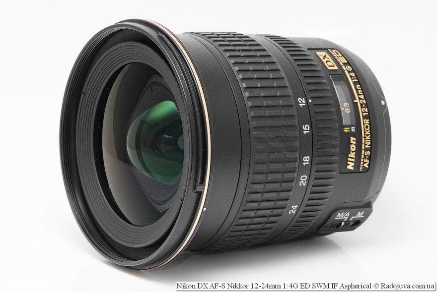 Nikon 12-24mm f/4G IF-ED AF-S DX