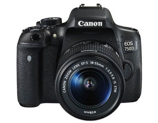 Canon EOS 750D kit 18-55 mm